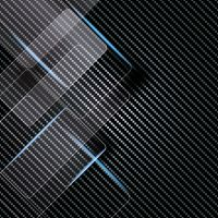 Blue Carbon Lines - DeinDesign