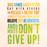 Don't give up - Florian Walz